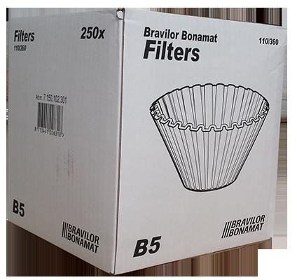Bravilor B5 Filters x 250