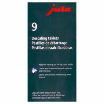 Jura Descaling Tablets  x 9