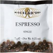 Miscela d'Oro Espresso Single Pods x 150