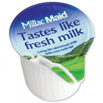 Millac Maid Milk Pots x 120