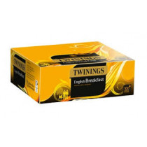 Twinings English Breakfast String and Tag Teabags 1 x 100