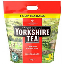 Yorkshire Tea One Cup Tea Bags x 1200