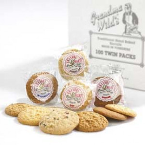 100 Grandma Wilds Twin Packed Hand Baked Biscuits